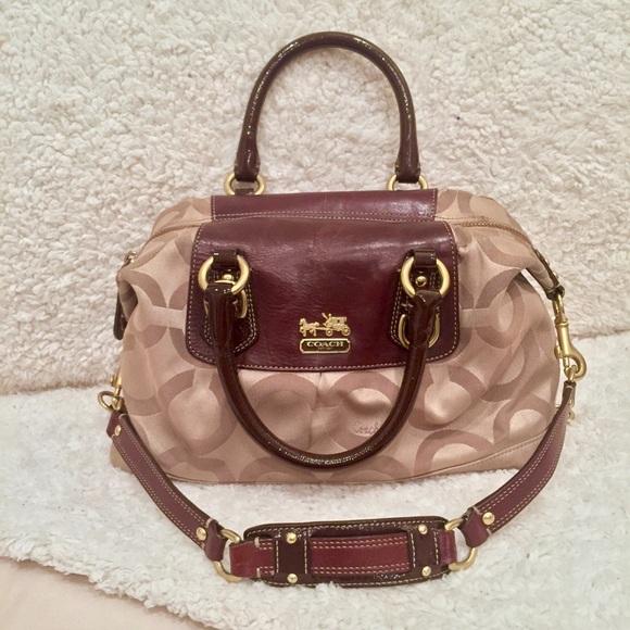 Coach Handbags -   FINAL SALE - Coach Madison Sabrina Satchel Purse bda37b1788a3e